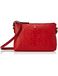 Isle Locada By Hidesign Women's Clutch (Red)