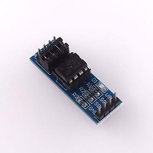 8Eninine Neue hochwertige At24C256 I2C-Schnittstelle Eeprom-Speichermodul Black & Blue
