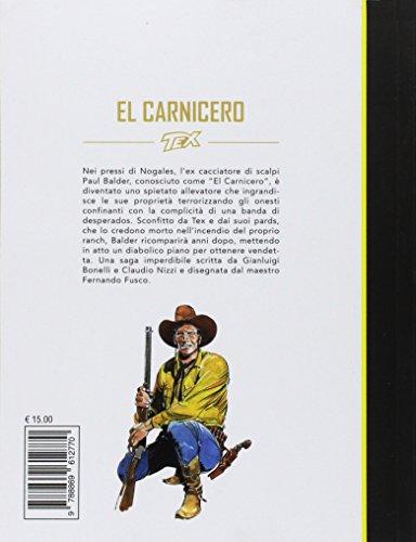 scaricare ebook gratis Tex. El Carnicero PDF Epub