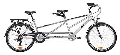 Tandem Fahrrad Atala Due grau/blau matt 21V Größe 26Zoll