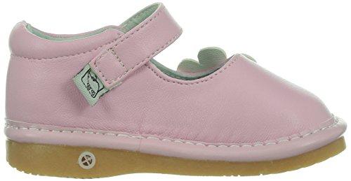 Little Blue Lamb Squeaky Schuhe Ballerinas Blüte Klettverschluss rosa Rosa
