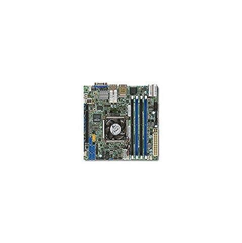 Supermicro X10SDV-4C+-TLN4F-O Intel Xeon D-1518/ DDR4/ SATA3&USB3.0/ V&4GbE/ Mini-ITX Motherboard