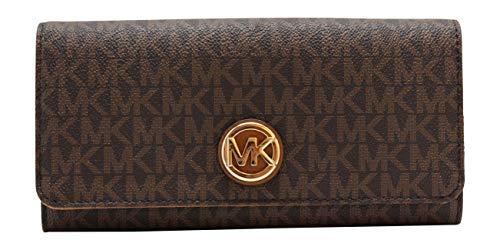 Michael Kors Geldbörse Brieftasche - Brown/Acorn - Fulton