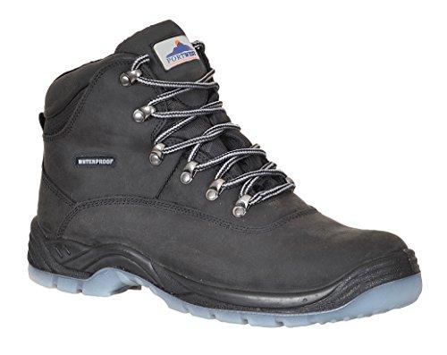 Portwest Workwear All Weather-Stivali in Steelite S3-FW57 WR Nero