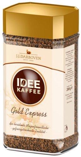 Idee Kaffee Gold Express Löslicher Kaffee 200g Glas