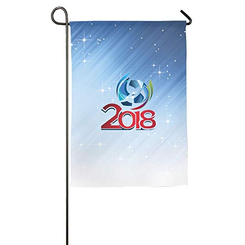 WEERQ 2018-Soccer-World-Cup Floral Garden Yard Banner for Outside House Flower- Best for Party Yard and Home Outdoor Decor Sox-falle