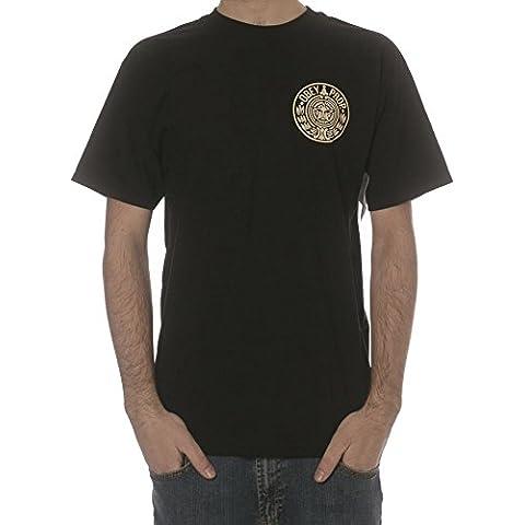 Camiseta Obey: Circular Wreath BK