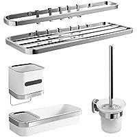 T-YSPJ Juego de accesorios de acero inoxidable colgante para accesorios de  baño towel toalla d8073804333f
