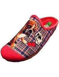 ALBEROLA Hausschuh Pantoffel Bulldogge A8682A Pink - EU 35-42 (41) WJ3GGV