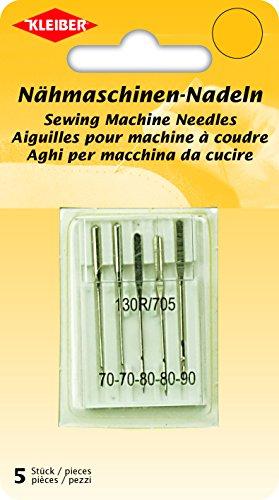 Kleiber Nähmaschinen-Nadeln Stahl 4 x 0,1 x 0,1 cm