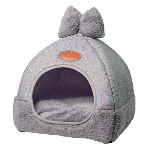 TianBin Moda Plegable Nido Mascotas Otoño Invierno
