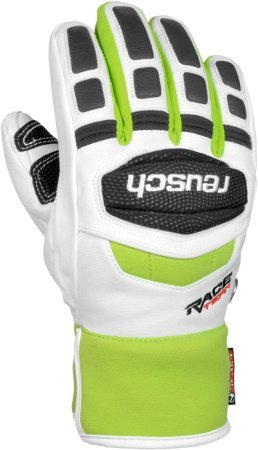Reusch Guanti Race 16 Rtx Junior White / Green 6 Junior