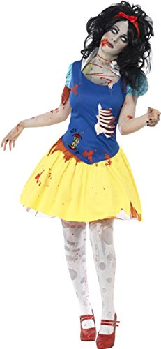 Erwachsene Halloween Fancy Kleid ZOMBIE Snow Fright Kostüm Gr. M, multi (Up Zombie-dress Halloween-kostüme)