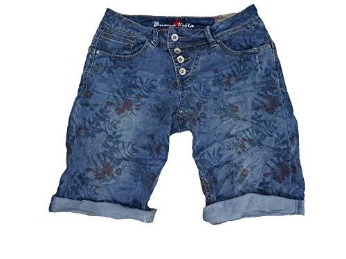 Buena Vista Damen Jeansshorts Malibu Regular Fit blau (51) S