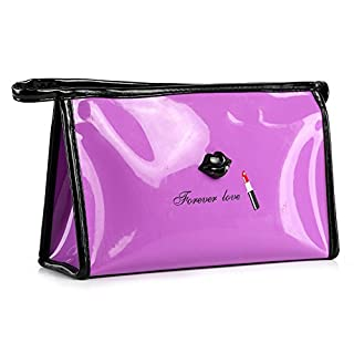 Cosmetic bag,IMJONO Valentine's Day summer St. Patrick's Day 2019 Best Gift for Girlfriend Discount clearance wash bag Portable Cosmetic Case Pouch Zip Toiletry Organizer Travel Makeup Clutch Bag