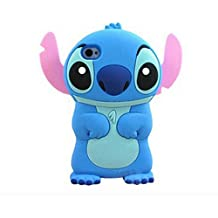 Disney 3d Stitch Silicone Case Cover for Samsung Galaxy S4 SIV I9500?Blue