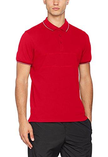 James Harvest Herren Poloshirt Rawlins Polo Shirt Rot