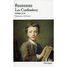 Les Confessions: Livres I à IV