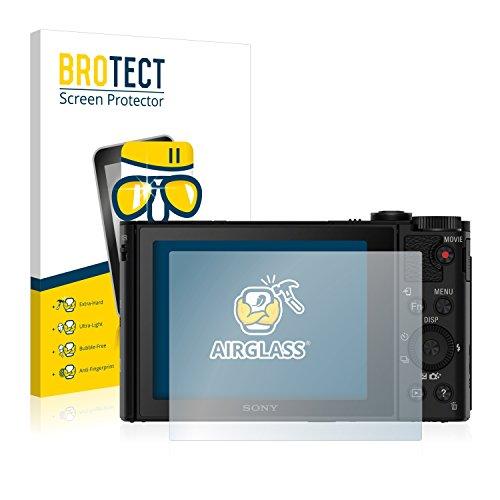 brotect Protection Ecran Verre Compatible avec Sony Cyber-Shot DSC-HX90V Film Protecteur Vitre 9H Anti-Rayures, AirGlass