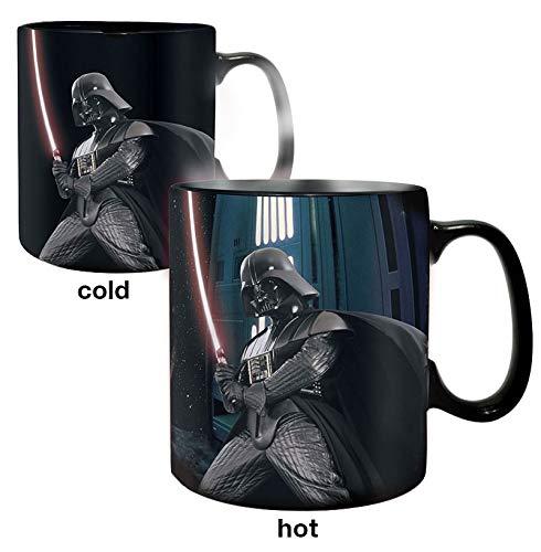 ABYstyle -STAR WARS - taza effecto termico- 460 ml - Darth Vader