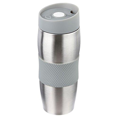 Mug isolant - Metal - Gris