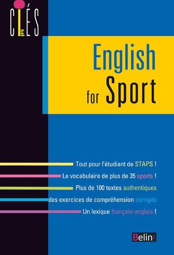 L'anglais du sport - NED