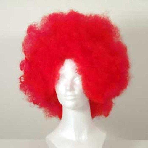 westbay Afro-Clown Perücke - rot