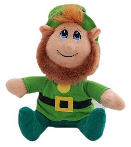 Good Night Dessin animé peluche peluche belle enfant petits jouets pour la décoration de lit à la maison, vert