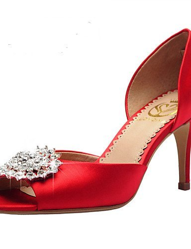 ShangYi Damen - Hochzeitsschuhe - Zehenfrei / D'Orsay und Zweiteiler / Vorne offener Schuh - Sandalen - Hochzeit / Kleid / Party & Festivität - 2in