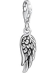 Rafaela Donata - Charm plumes - Argent sterling 925, bracelets, bijoux en argent - 60903069