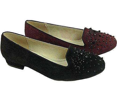Foster Footwear , Herren Mokkasins Normal Schwarz