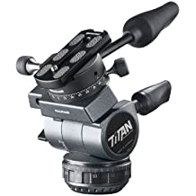 Cullmann Titan TW99 Professional Video Head with OX369 Quick Release Coupling System Panorama Unit Max Load to 15 lbs for Camera DSLR  DV Camcorder from Canon Nikon Sony Panassonic  e.g. Canon EOS C200 Panasonic HC-X1 AG-DVX200 BlackMagic URSA Mini Sony PXW-FS7 HXR-NX100