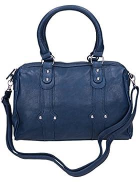 Betz Damenhandtasche aus Kunstleder mit Reißverschluss, Schulterriemen und zwei Henkel