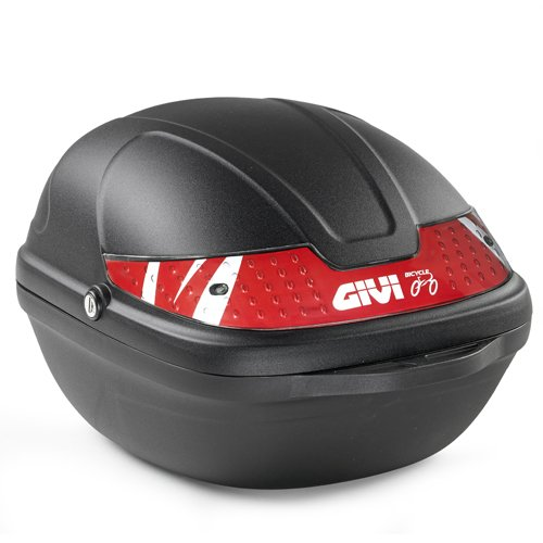 Givi CY14N Bicicleta Baúl, 14 litros, Color Negro, Maximo 2 Kg de...