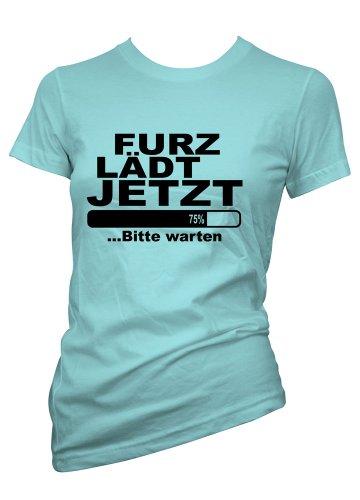 Alte Furz Lustig T-shirt (Damen t-shirt furz lädt jetzt lustige shirts fun shirt Perfektes Geschenk für geliebte Womens Funny T Shirts)