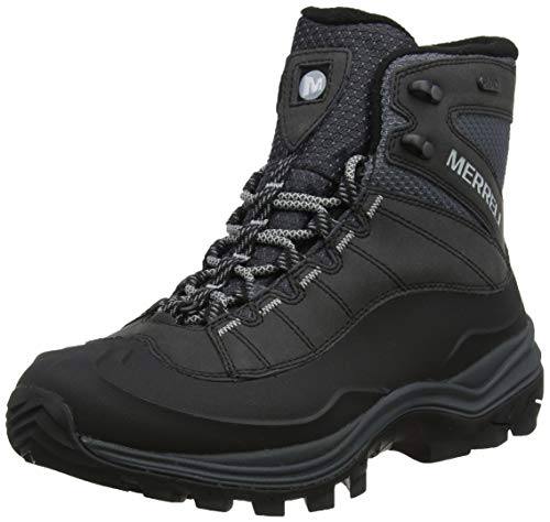 Merrell Thermo Chill Mid Shell Waterproof, Botas de Nieve para Hombre, Negro...