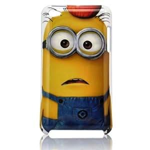 Robinhood99® Despicable Me Minion iPod Touch 4 4th Generation Hard Case (UK SELLER) (Apple Pattern Minion)