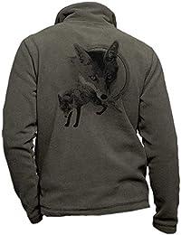 Pets-easy Veste Polaire Renard - vêtement de Chasse personnalisé gibier 5ac5cc7c8f6
