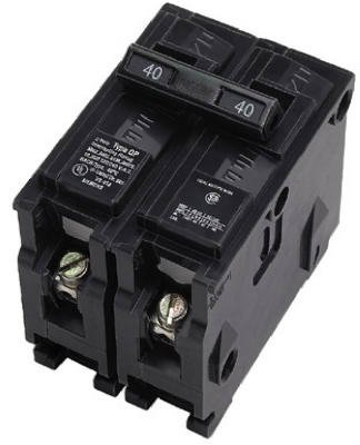 Connecticut Elektrische vpkicbq22020Amp Dual Pole Leitungsschutzschalter (Bryant 2 Pole)