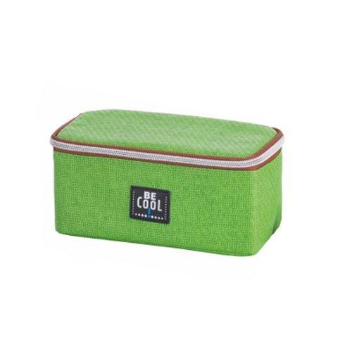 Be Cool Cooling Case - Nevera para Acampada, Color Verde