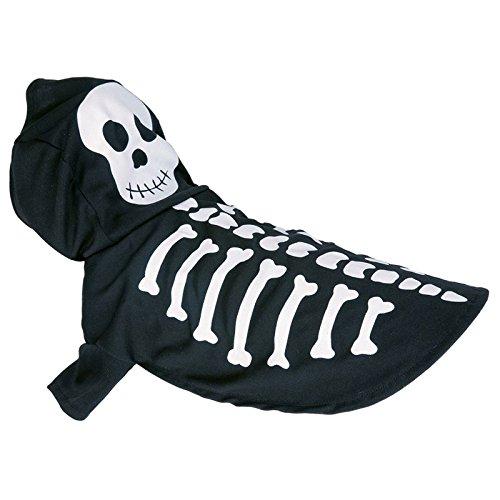 Asab Pet Halloween-Kostüm Outfit Kleidung Hund Katze Spooky Fancy Kleid Geschenk Party Neuheit Kapuze Halsband Hat Spielzeug One (Halloween Outfits Hund)