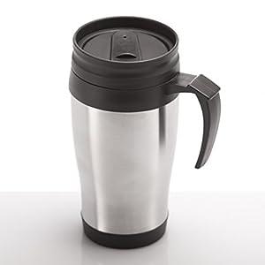 Coffee-2-go Thermobecher aus Edelstahl Trinkbecher Isotasse Kaffeebecher 400ml