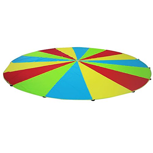 Imported Kids Play Rainbow Parachute Outdoor Game Exercise Sport Toy 2M