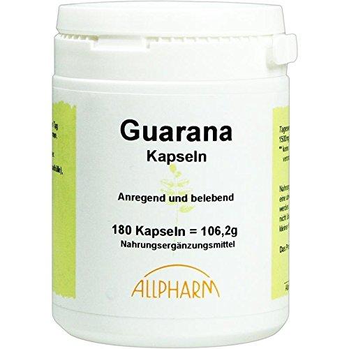 Guarana Kapseln 180 stk -