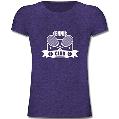 Club - 164 (14-15 Jahre) - Lila Meliert - F131K - Mädchen Kinder T-Shirt ()