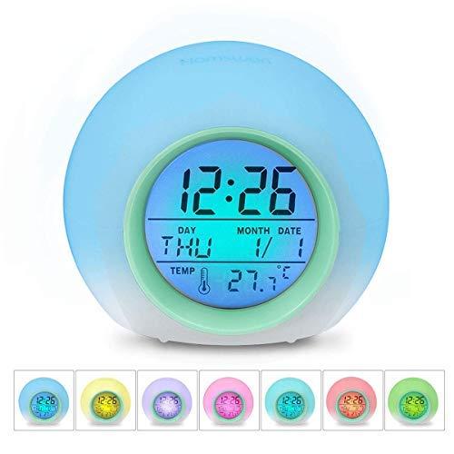 Zaibang - Reloj Despertador Digital