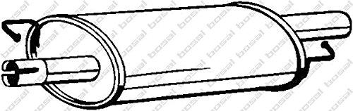 Bosal 233-577 Mittelschalldämpfer