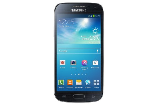 Samsung Galaxy S4 mini Smartphone (10,9 cm (4,3 Zoll) Touch-Display, 8 GB  Speicher, Android 4.2) schwarz (Display S4 Mini)