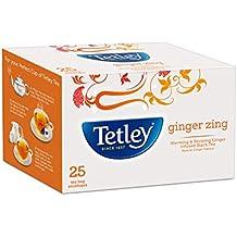 Tetley Flavour 25 Tea Bags, Ginger