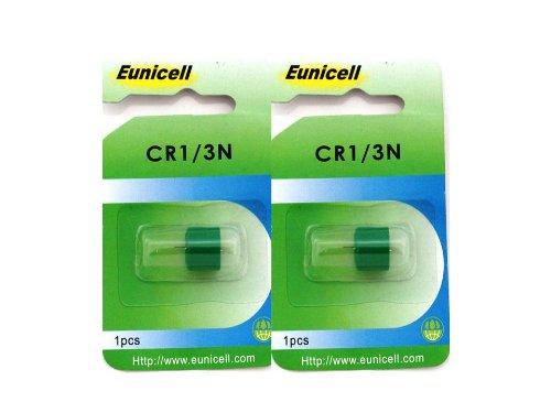 2 x EUNICELL CR1/3N, DL1/3N, 2L76 3 V LITHIUM PHOTO Batterie
